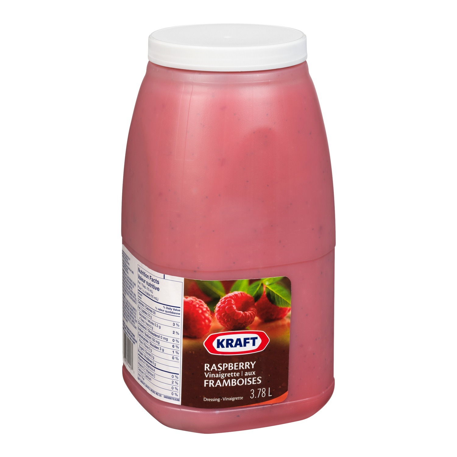 KRAFT Raspberry Dressing 3.78L 2