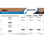 Class 10.9 Metric Hex Cap Screws Assortment (M20-2.50 Thread)