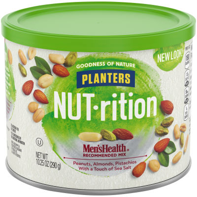 Planters NUT-rition Men's Health Recommended Mix, 10.25 oz Canister