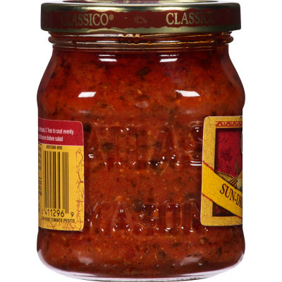 Classico Sun-Dried Tomato Pesto Sauce and Spread Pasta Sauce 8.1 oz Jar