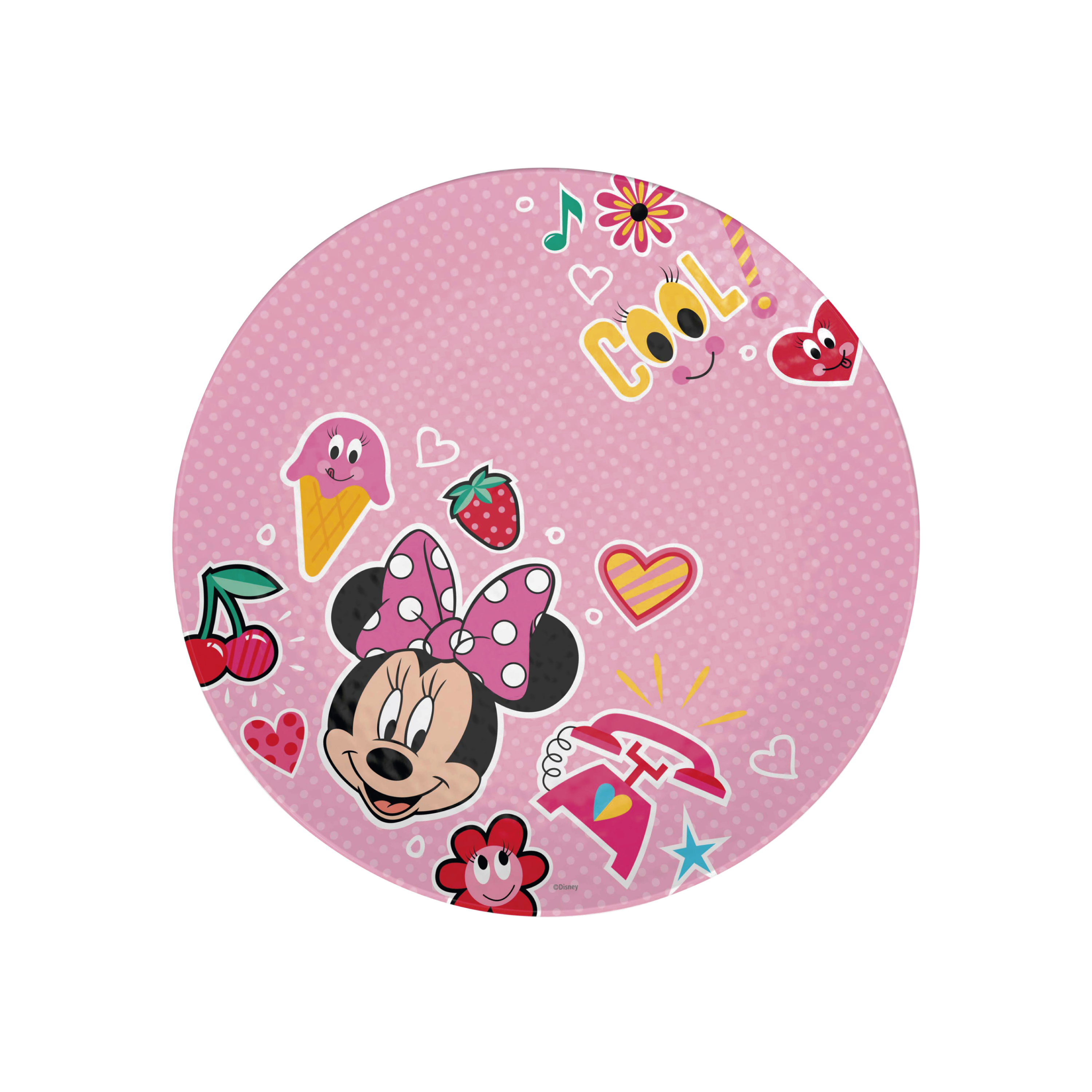 Disney Kids 9-inch Plate and 6-inch Bowl Set, Minnie Mouse, 2-piece set slideshow image 4