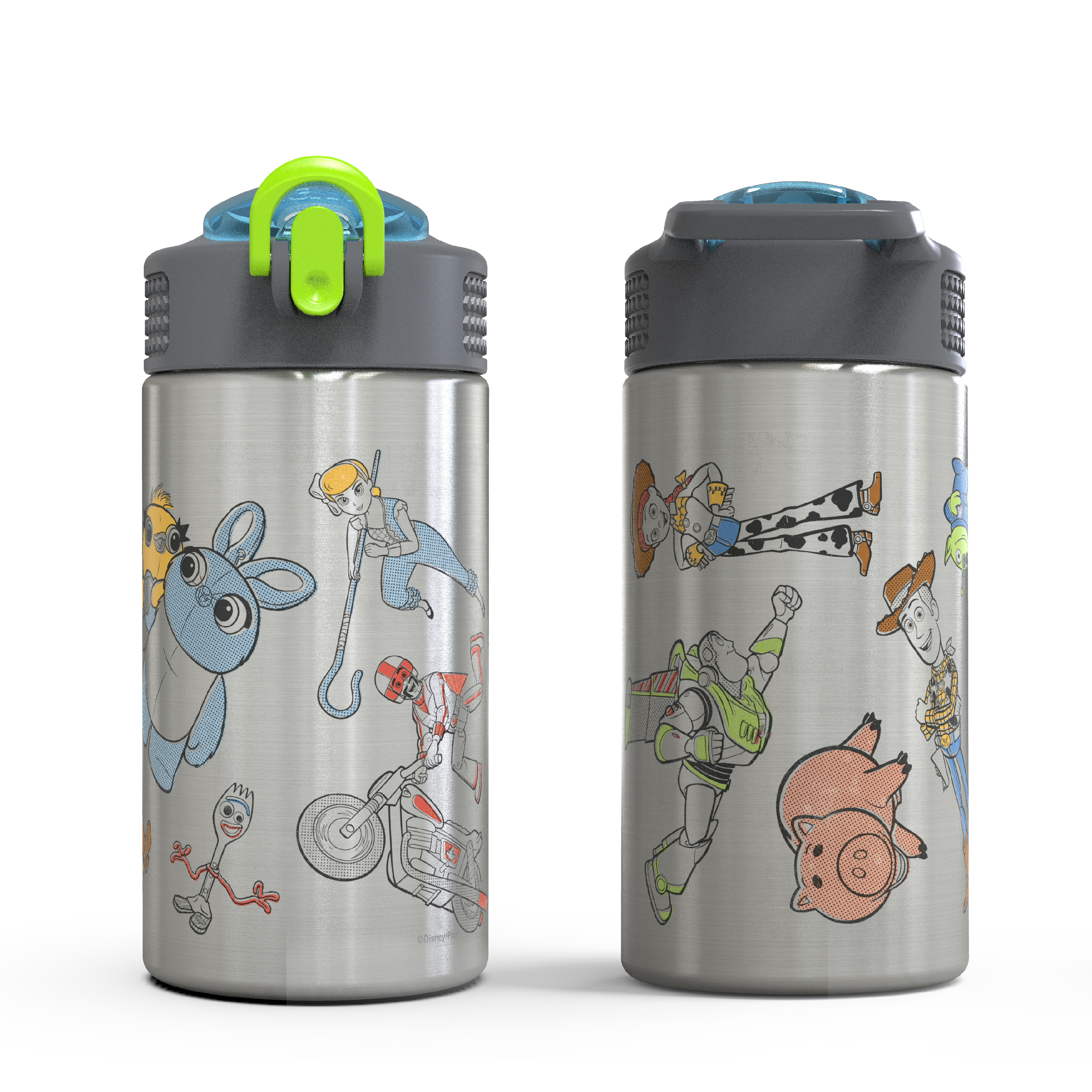 Toy Story 4 Movie 15.5 ounce Water Bottle, Buzz, Woody & Friends slideshow image 5