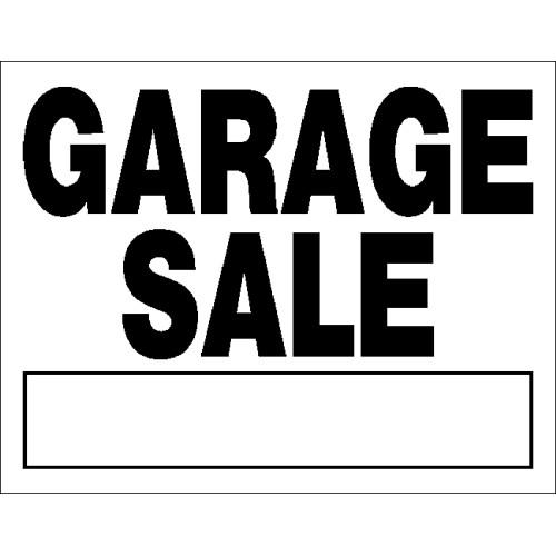 Garage Sale Sign, 14
