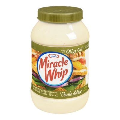 Miracle Whip Olive Oil Spread