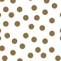 Swatch for Duck Washi® Crafting Tape - Metallic Gold Dot, 0.75 in. x 15 yd.