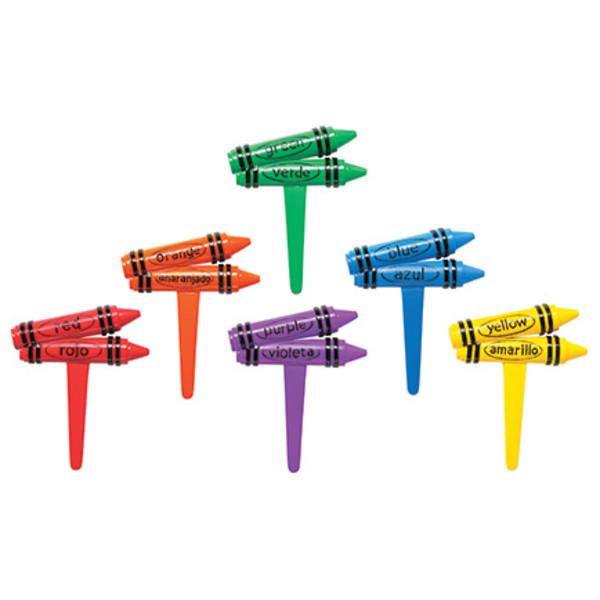 Bilingual Crayons DecoPics®