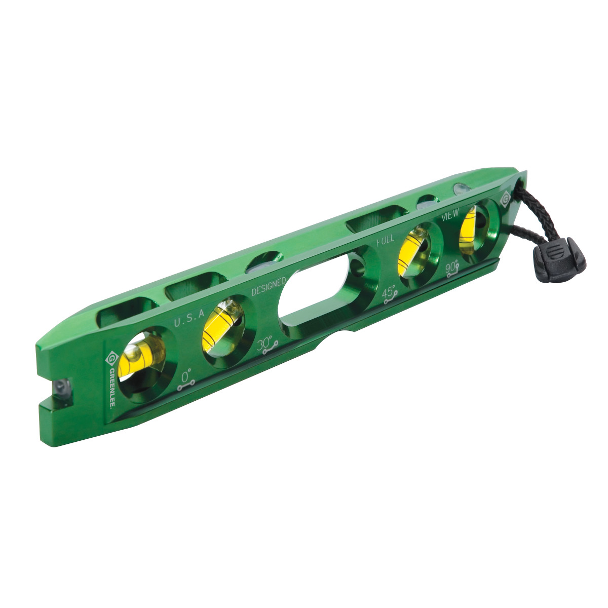 Greenlee L107 Electrician's Torpedo Level, 8-1/2""