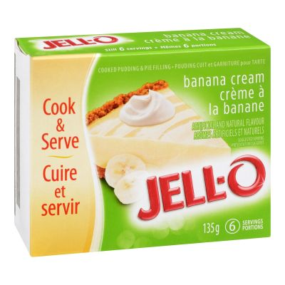 Jell-O Instant Pudding and Pie Filling, Banana Cream