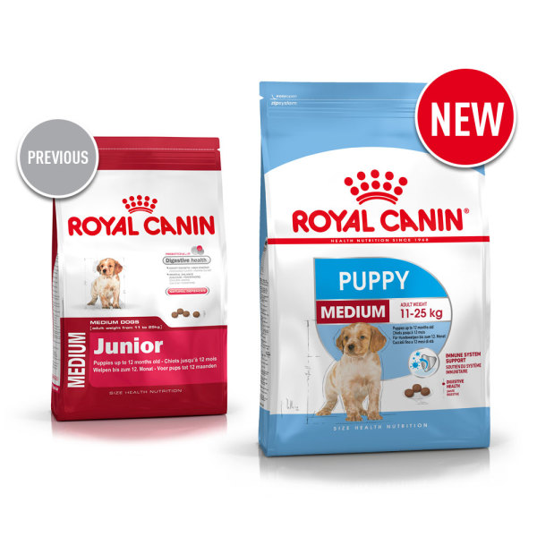 medium junior dog food royal canin. Black Bedroom Furniture Sets. Home Design Ideas