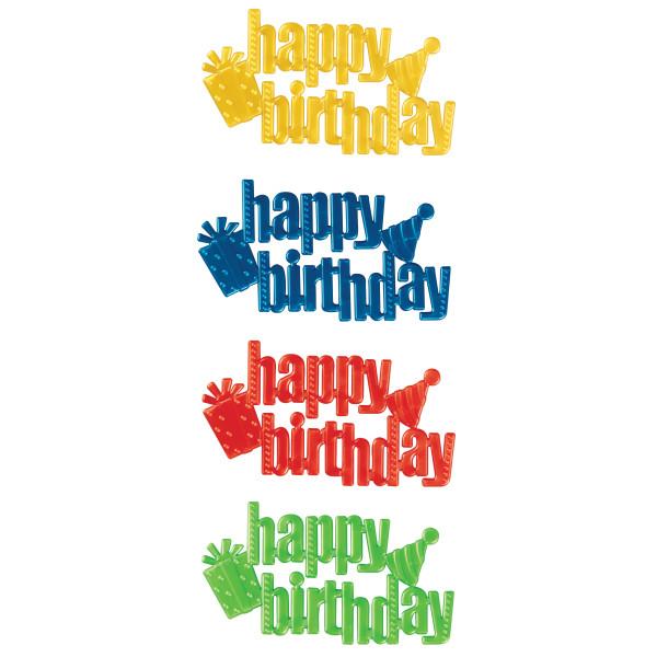 Happy Birthday Script Assortment Layon