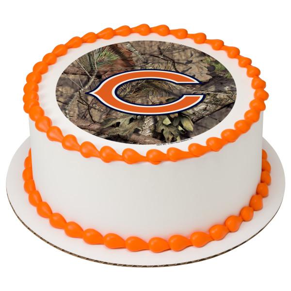 NFL Chicago Bears Mossy Oak® PhotoCake® Edible Image®