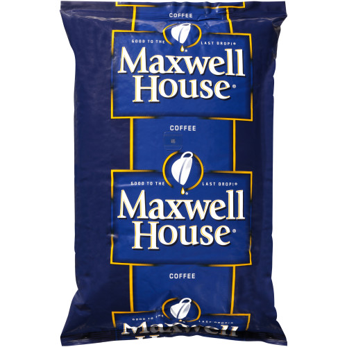 MAXWELL HOUSE Espresso Whole Beans, 4 lb. Bag (Pack of 6)