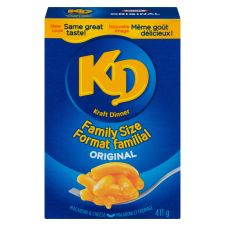 Kraft Dinner Original Macaroni & Cheese, Family Size