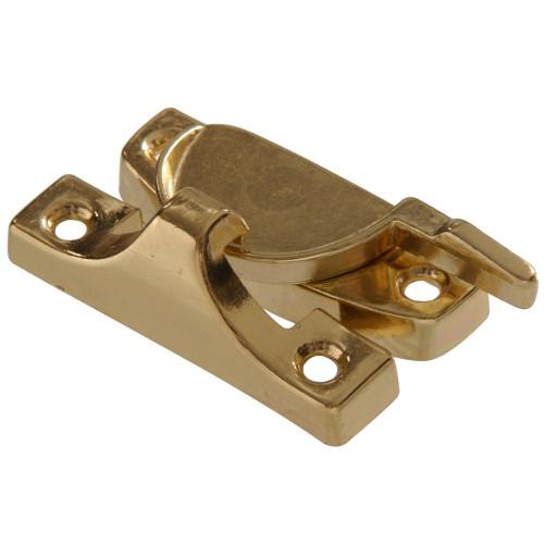 Hardware Essentials Sash Lock Contemporary Style Brass