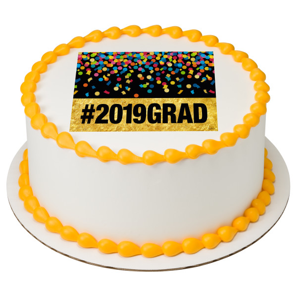 #2019 Grad PhotoCake® Edible Image®