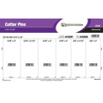 "Zinc Cotter Pins Assortment (5/16"" x 3/8"")"
