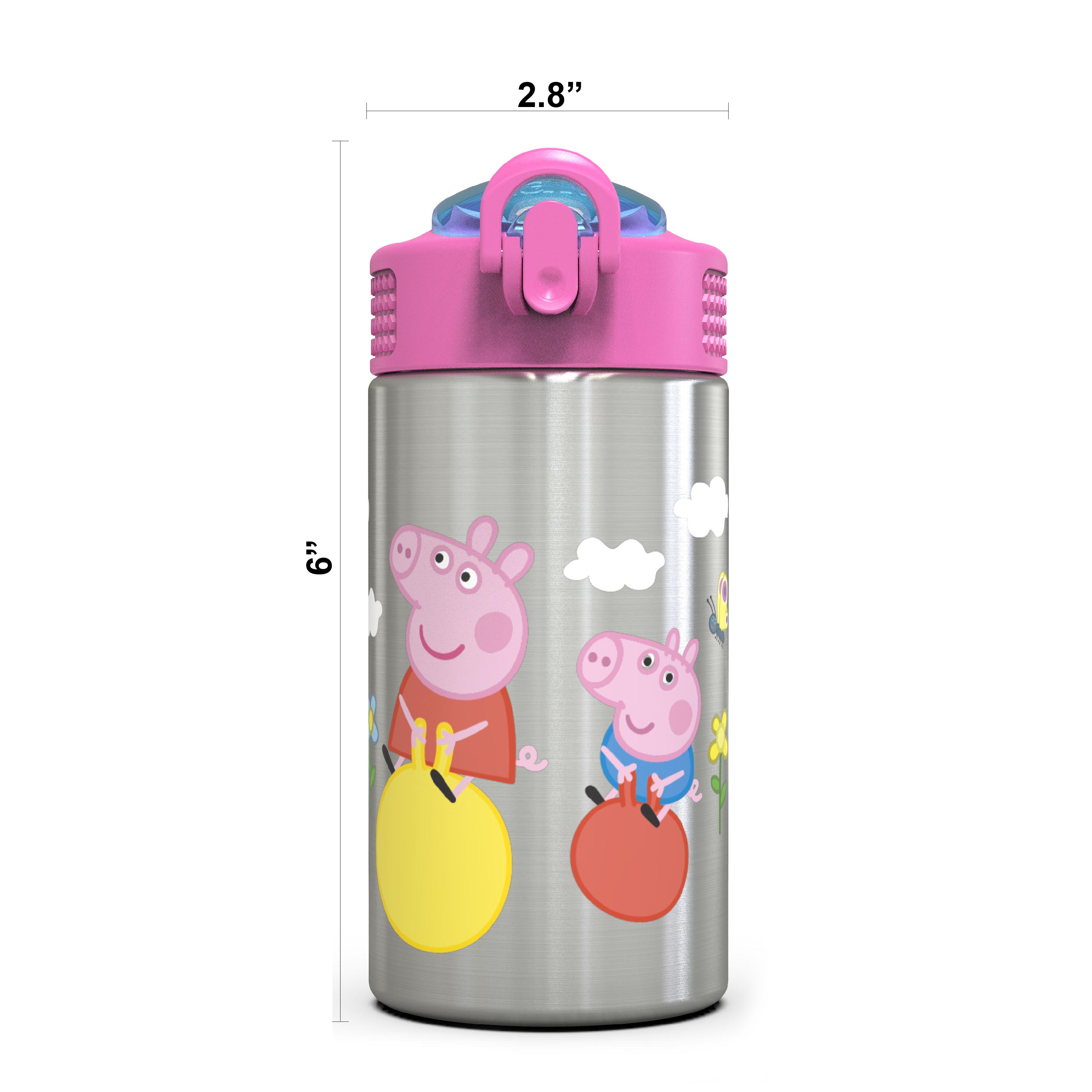 Nick Jr. 15.5 ounce Water Bottle, Peppa Pig slideshow image 5