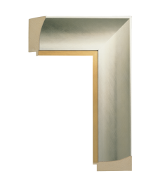 Intaglio Silver w/Gold 3