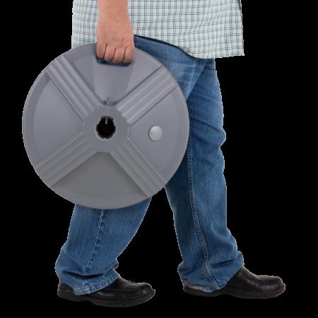 50 lb Umbrella Base - Grey 8