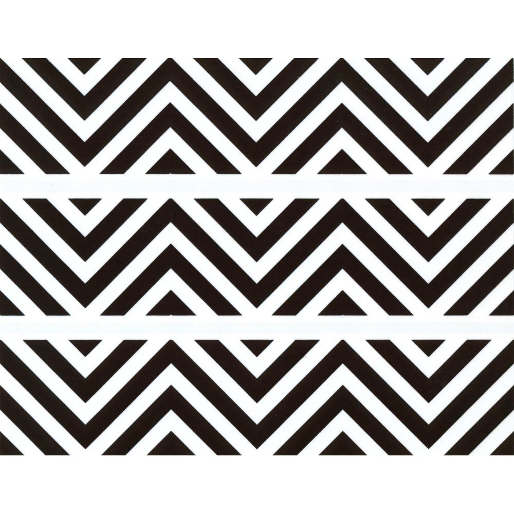 Black & White Chevron