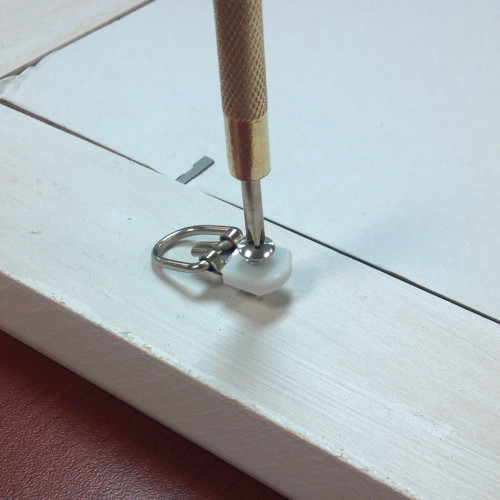 OOK ReadyScrew Small Steel D-Ring Hanger