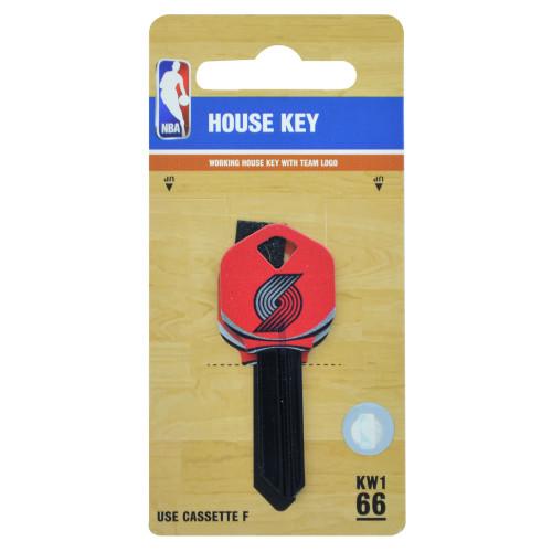 Kwikset/66 KW1 NBA Portland Trail Blazers Key Blank