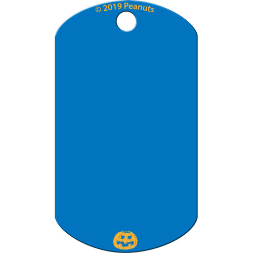 Snoopy Pumpkin Large Military ID Quick-Tag 25 Pack