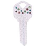 Confetti Key Blank