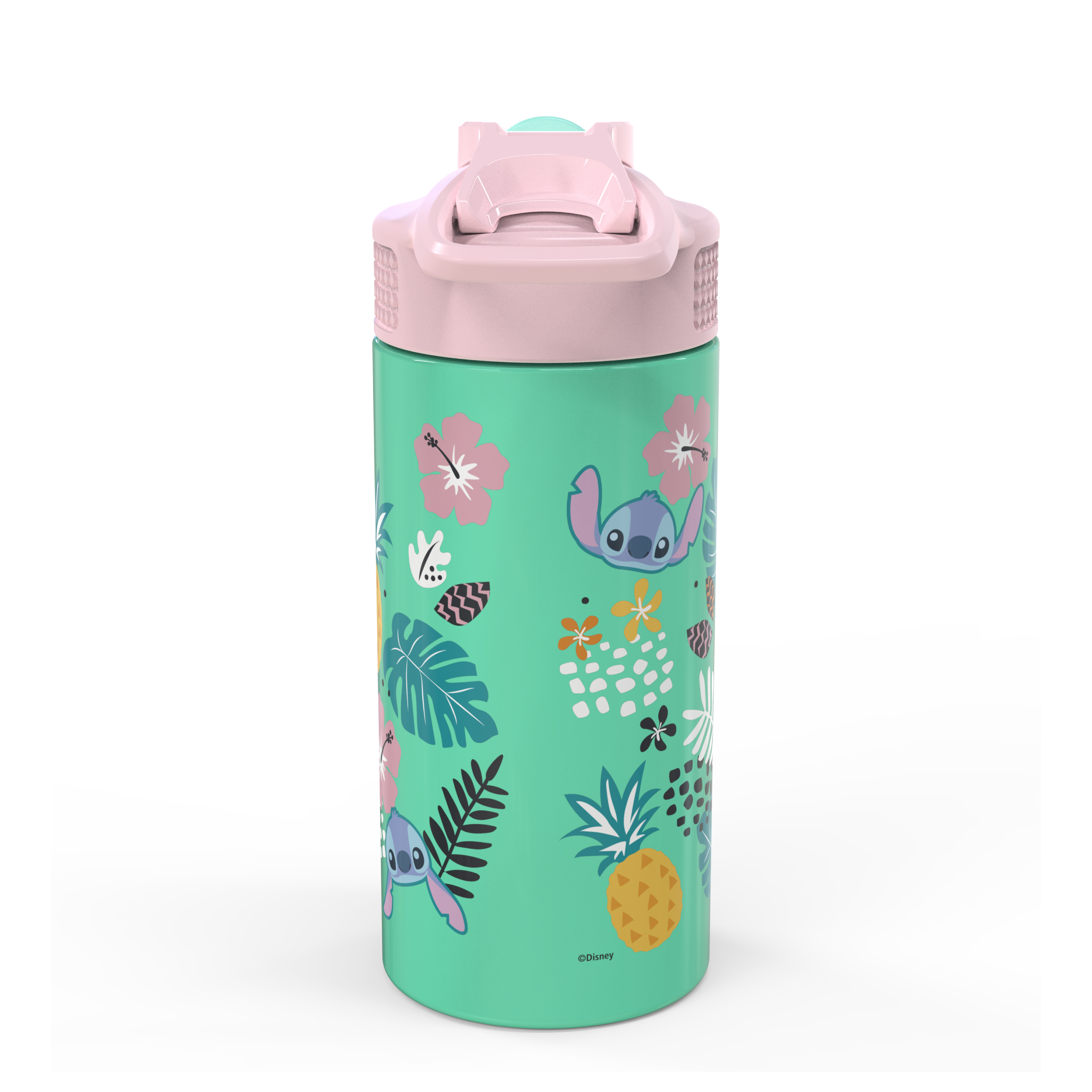 Disney 14 ounce Stainless Steel Vacuum Insulated Water Bottle, Lilo and Stitch slideshow image 5