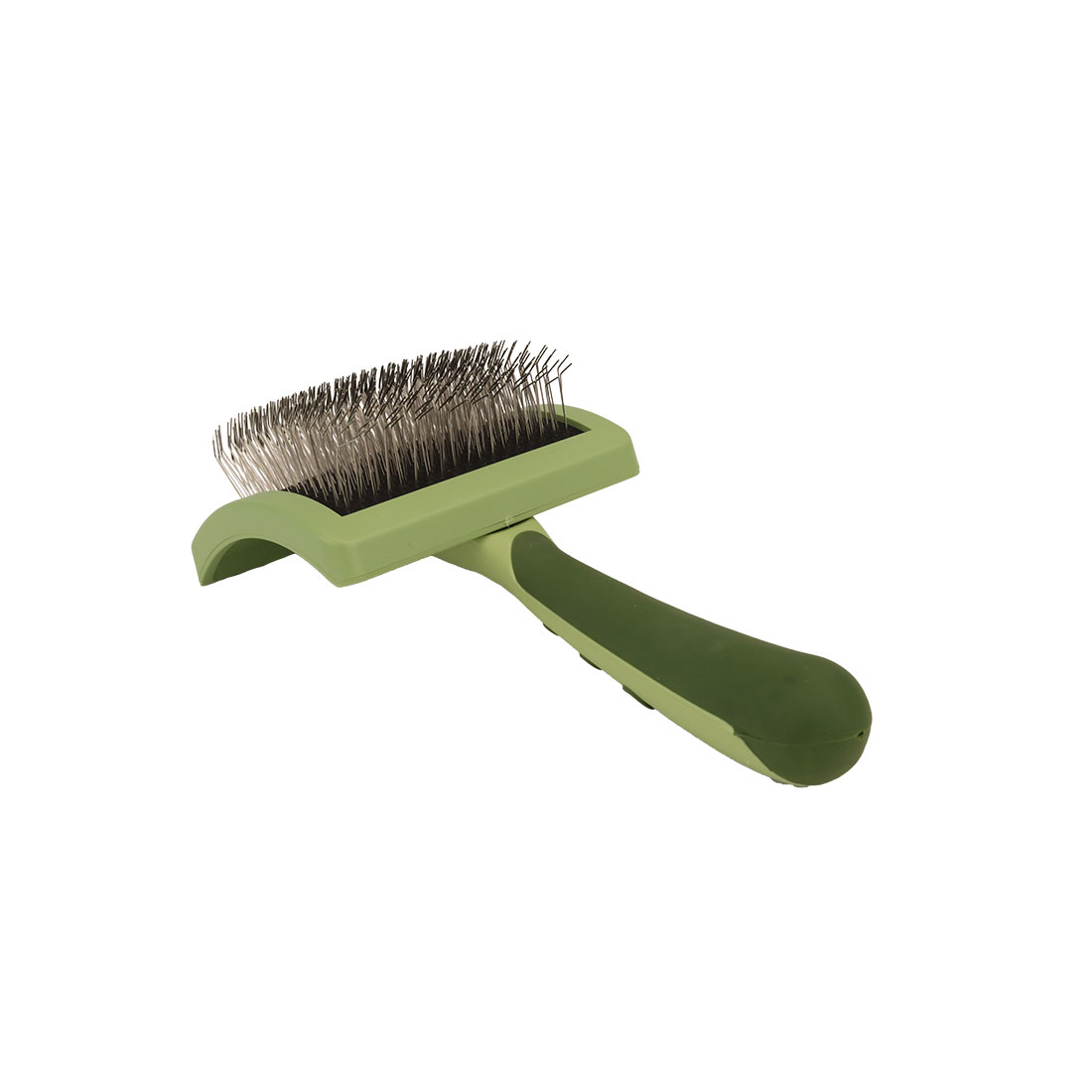 Safari® Curved Firm Slicker Brush with Coated Tips for Long Hair