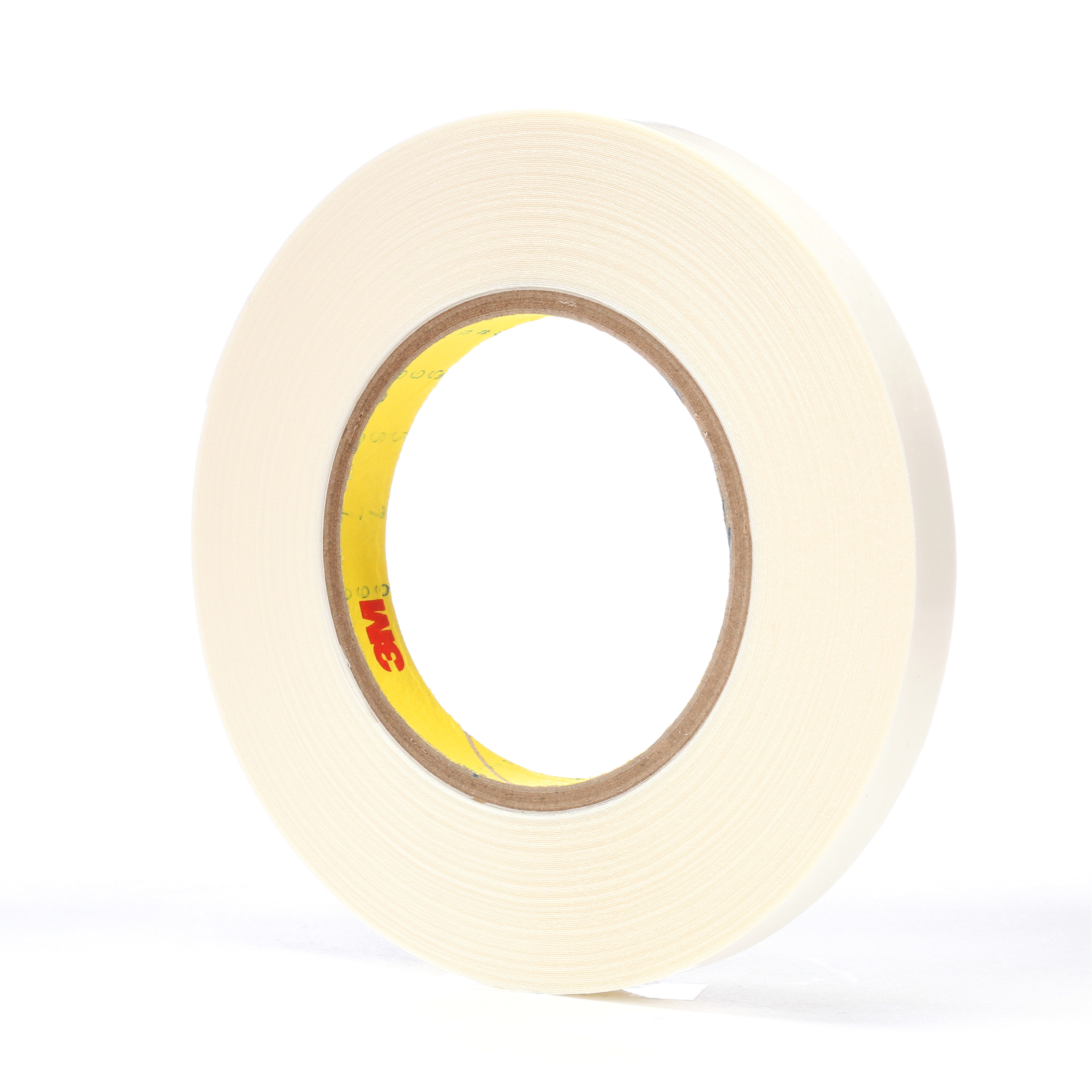 3M™ Double Coated Tape 9579, White, 1/2 in x 36 yd, 9 mil, 72 rolls per case