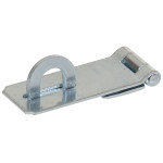 Hardware Essentials Fixed Staple Safety Hasps Zinc