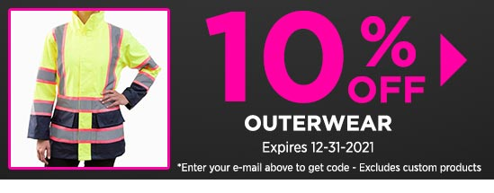 10% Off Outerwear