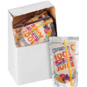 CAPRI SUN 100% Juice Fruit Punch Pouch, 4 oz. Pouches (Pack of 48) image