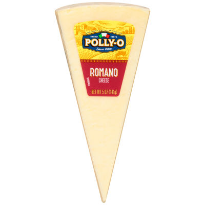 Polly-O Romano Cheese Wedge 5 oz Shrink Wrapped