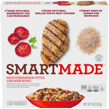 Smart Made Smart Ones Mediterranean-Style Chicken Bowl 9 oz Box