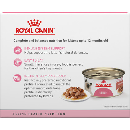 Kitten Thin Slices in Gravy Canned Cat Food