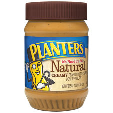 Planters Natural Creamy Peanut Butter 26.5 oz Jar