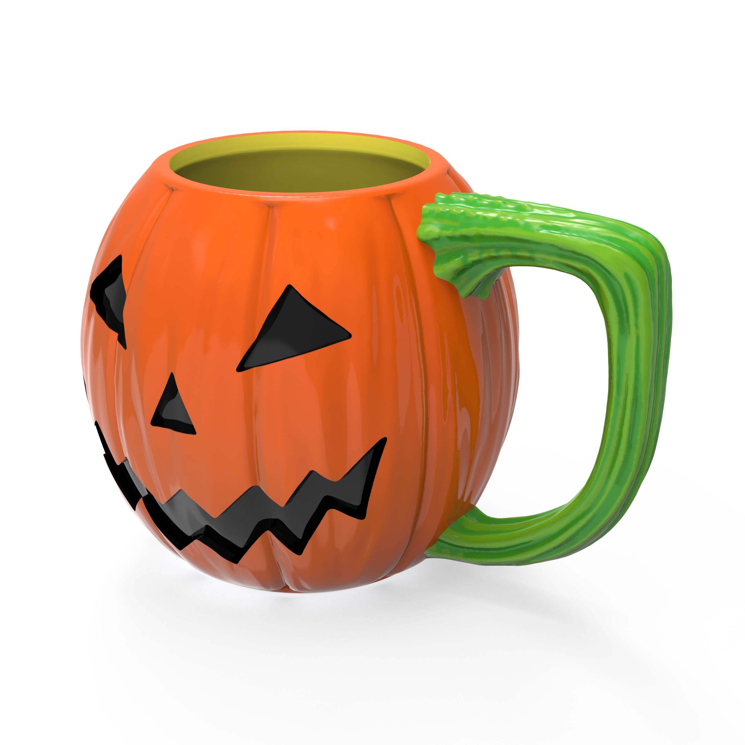 Halloween 15 ounce Coffee Mug and Spoon, Jack O' Lantern slideshow image 4