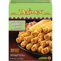 BEEF & CHEDDAR ROLLED TACOS 23 pc image