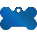 Blue PVD Small Bone Quick-Tag