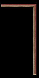 Billiard Fillet Gold 1/4