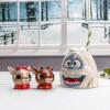 Rudolph the Reindeer Salt and Pepper Shaker Set, Rudolph & Clarice, 2-piece set slideshow image 3
