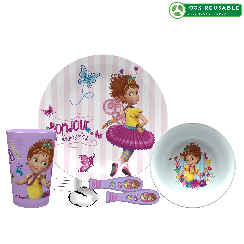 Disney Jr. Dinnerware Set, Fancy Nancy, 5-piece set slideshow image 1