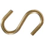 Hardware Essentials Brass S-hooks