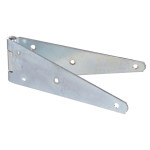 Hardware Essentials Zinc Heavy Duty Strap-Hinges