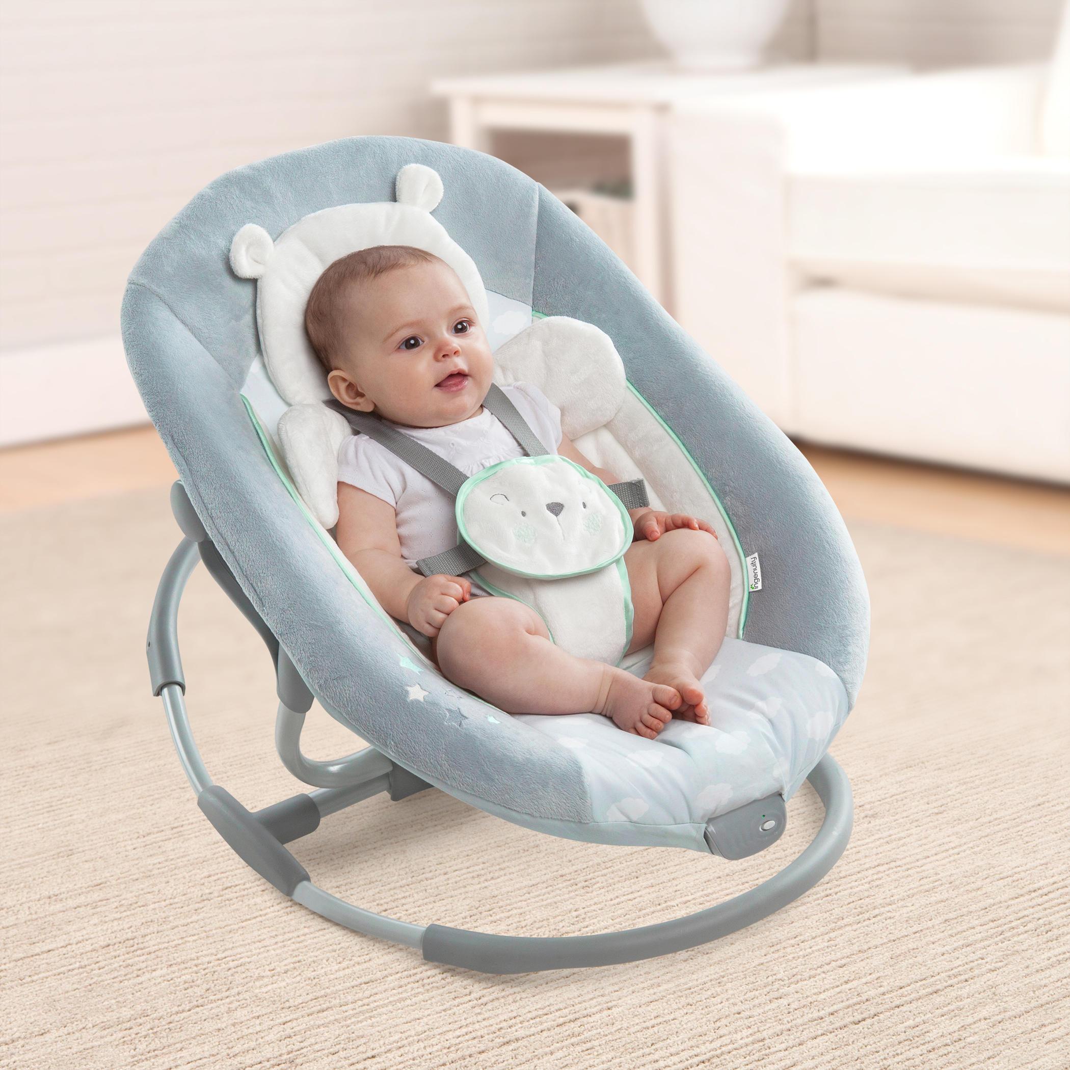 InLighten Cradling Swing & Rocker™ � Twinkle Twinkle Teddy Bear™