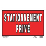 "French Private Property Sign, 8"" x 12"""