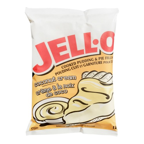JELL-O Pudding and Pie Filling Coconut 1kg 2