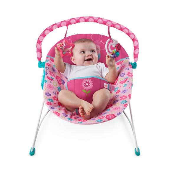 Happy Flowers Vibrating Bouncer™